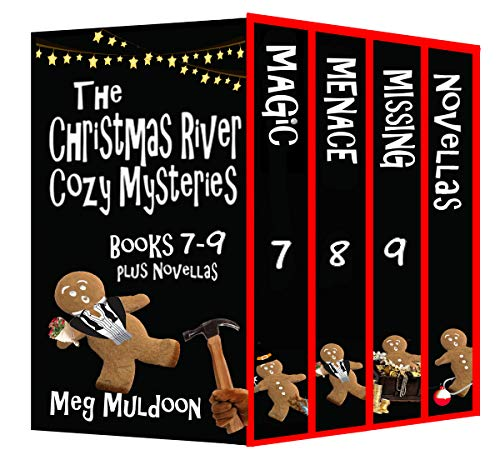 The Christmas River Cozy Mysteries Box Set: Books 7-9 (Christmas River Box Sets Book 3)