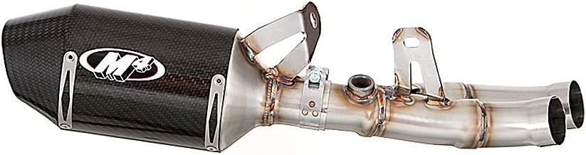 M4 06-18 Yamaha YZF-R6 Street Slayer Slip-On Exhaust with Muffler Box Eliminator (Carbon Fiber)
