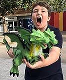 ML Dinosaurio Dragon Juguete Dinosaurio Realista  Figura de accin, de Cabeza a Cola de 50cm