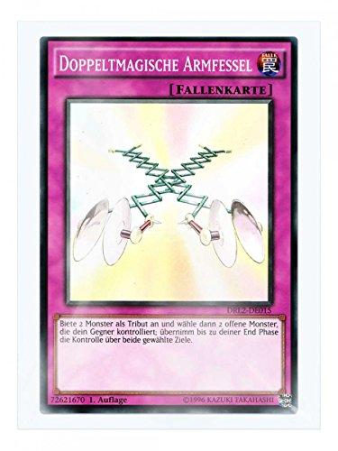 DRL2-DE015 Doppeltmagische Armfessel 1. Auflage im Set mit original Gwindi Kartenschutzhülle