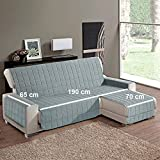 Simplicity Plus - Funda de sofá con chaise longue a derecha o izquierda