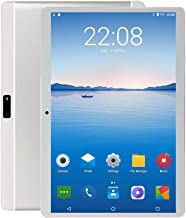 Penen 10 inch Android Tablet PC, 5G Wi-Fi, 4GB RAM,64GB ROM, Octa -Core Processor, IPS HD Display, 3G Phablet with Dual Sim Card Slots, WiFi, Bluetooth, GPS, Tablets for Kids,M1 (Silver) photo