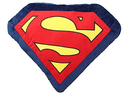 SD Toys Superman Coussin Acrylique, Multicolore, 60 x 47 x 8 cm