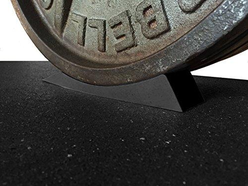 The Dead Keil–Kreuzheben Jack Alternative für Ihre Turnbeutel–hebt geladen Barbell & Teller für müheloses Be-. Perfekt für Powerlifting, Gewichtheben, Crossfit, Home Gym & Kreuzheben., schwarz