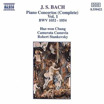 BACH, J.S.: Piano Concertos, Vol.  1 (BWV 1052-1054)