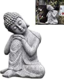 MWKL 1 Uds Estatua de Buda Sentado/reclinado, Estatua de Buda de Resina, Adornos de artesanía Zen, d...