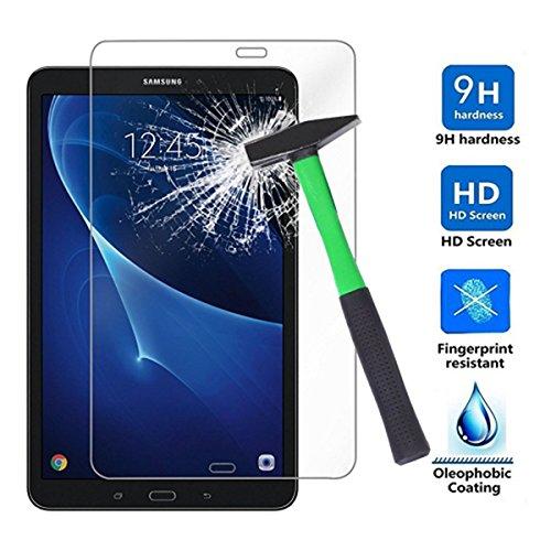 GerTong Protector de Pantalla para Samsung Galaxy Tab A P585/P580 (10,0 Pulgadas, Cristal Templado HD, antiarañazos, antihuellas y Fácil Instalación)