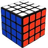 Maomaoyu Cubo Magico 4x4 Originale, 4x4x4 Speed Cube, Regali di Natale per Adulti e Bambini(Nero)