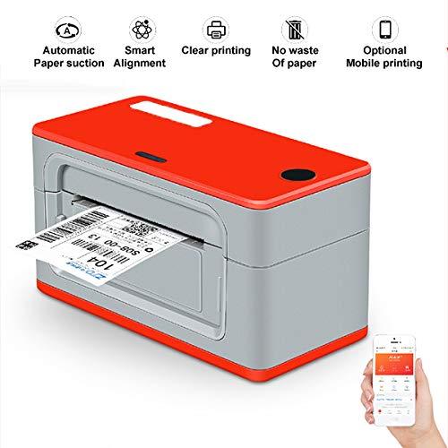 TANCEQI thermoprinterkaart met zuigkracht automatisch papier, mini mobiele printer (Apple versie Solo)