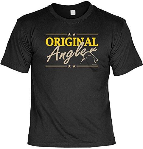Hobby Shirt zum Thema Angeln/Fischen: Original Angler Schwertfisch