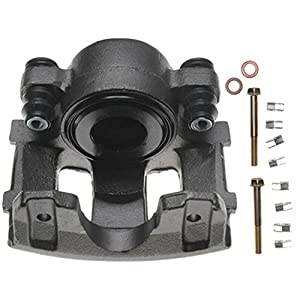 ACDelco 18FR984 Professional Front Driver Side Disc Brake Caliper Assembly without Pads (Friction Ready Non-Coated), Remanufactured