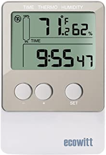 ECOWITT DS102 USB Temperature Humidity Data Logger Recorder 20736 Points with PC Software