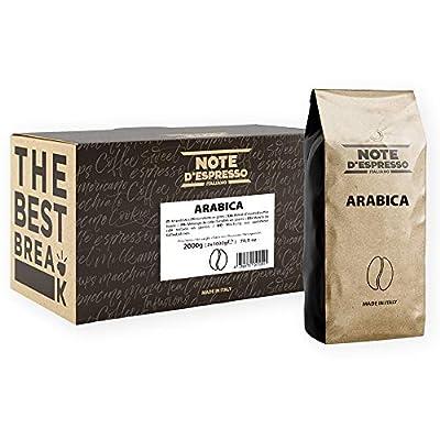 Note d'Espresso Arabica Coffee Beans 1000g x 2 pack