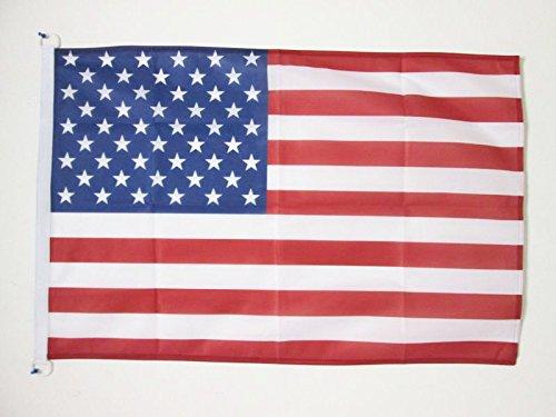 AZ FLAG Drapeau Etats-Unis 150x90cm - Drapeau américain - USA 90 x 150 cm Spécial Extérieur - Drapeaux
