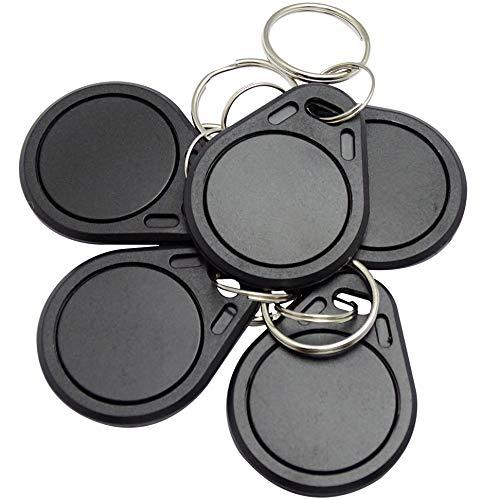 mmtrade | 5X NFC Tag Chip NTAG216 Schlüsselanhänger | 888 Byte - Read & Write | kompatibel mit Allen gängigen NFC Lesegeräte & Android Apps