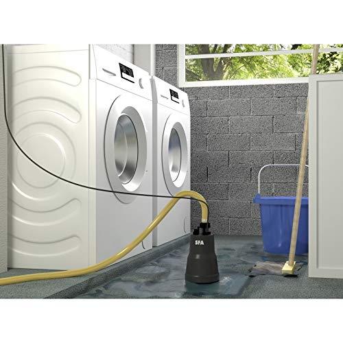 SFA Sanipuddle Pumpe zur Kellerentwässerung mit Flachsaugfunktion