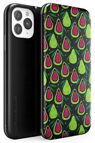 Mandarine Fruits Motif Trasparent Conception Flip Cas de téléphone pour iPhone 5s, for iPhone SE | Portefeuille Cuir Protecteur Poids léger Couverture Pare-chocs Modèle Imprimé | Fruit Mignonne Transp