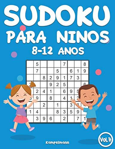 Sudoku Para Niños 8-12 Años: 200 Sudoku para Niños de 8-12 Años con Soluciones - Entrena la Memoria y la Lógica (Vo. 7)