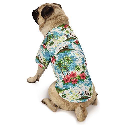 Casual Canine Hawaiian Breeze Camp Shirt
