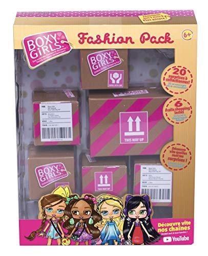 BOXY GIRLS BOXES Le pack fashion pour les poupées fashionista qui vont faire parler d'elles - Vu à la Télé
