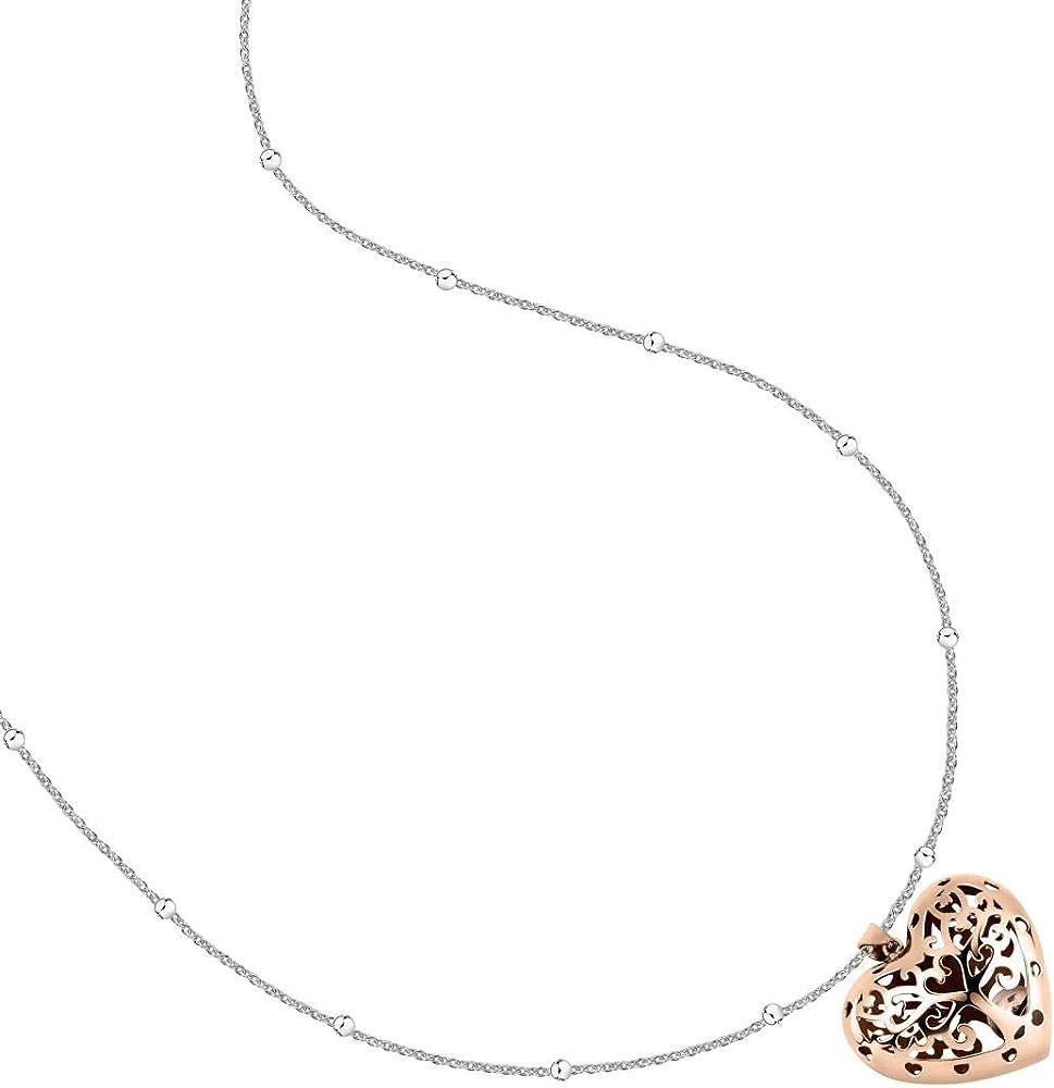 Morellato, collana da donna, collezione talismani, in acciaio inossidabile e pvd oro rosa SAQE33