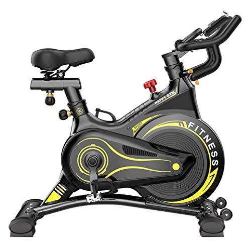 WJFXJQ Cyclette Cyclette, Coperta Fitness Cyclette, con Resistenza di velocità, la casa Sport Trainer Bici di Riciclaggio, Perdere Peso Attrezzature for Il Fitness
