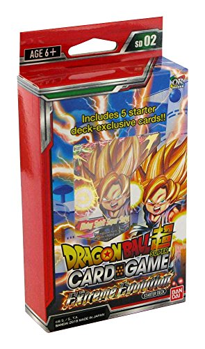 Bandai BCLDBSP7498 Dragon Ball Super Kartenspiel: The Extreme Evolution Starter Deck, Mehrfarbig
