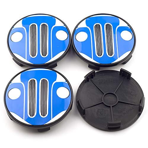 LIUSHI Tapacubos 4pcs 69mm Coche de Ruedas de automóvil Caps Caps Fit para E32 Z3 E36 E38 Z4 E89 E61 E65 E66 E67 X1 E84 X3 E83 X6 E71 Beyern Wheels 36136768640 Cubierta Central (Color : Black)