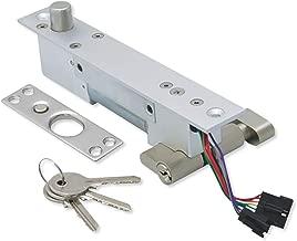 Seco-Larm SD-997A-GBQ Enforcer Electric Deadbolt, Fail-Secure, 12/24 VDC