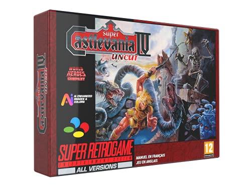 Cartouche pour Super Nes : Super Castlevania Version Française Non Censurée