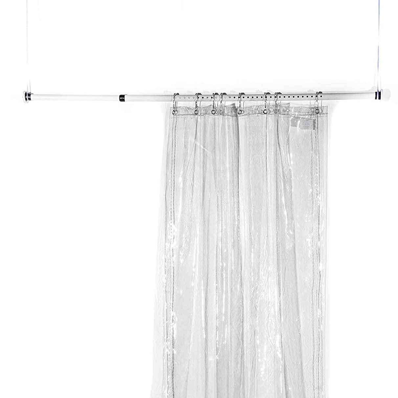 WSGYX Balcony Curtain Cloth, Wind Curtain Balcony Tarpaulin Transparent Poncho Waterproof rain Cloth PVC Thickening (Color : 51.4M)