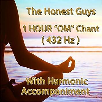 1 Hour Om Chant (432hz) [With Harmonic Accompaniment]