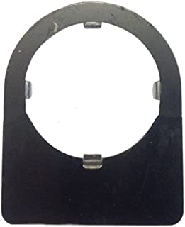 Fuji Electric, AHX177-BH00, Blank Legend plate for 30.5mm Panel Hole/AR30, Black