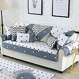 Homeen Funda decorativa para sofá de 2/3/4/5 plazas, funda para sofá de tela,...