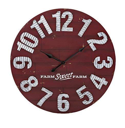 Trisha Yearwood Home Collection Trisha Yearwood Wall Clock, Red