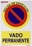 Wolfpack Linea Profesional 15050565 Cartel Vado Permanente 30x21