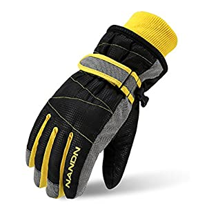 MAGARROW Kids Winter Warm Windproof Outdoor Sports Gloves For Boys Girls