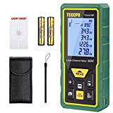 Laser Measure Advanced 196Ft TECCPO, Mute Laser Distance Meter with Electronic Angle Sensor