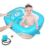 Aufblasbare Baby Badewanne Große Kapazität Rutschfeste Badewanne Tragbare Reise Dusche Becken
