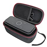 para DOSS SoundBox Altavoz Bluetooth Subgrave Potente 12W Altavoz Inalámbrico Portátil Viajar Difícil Caso Bolso por VIVENS