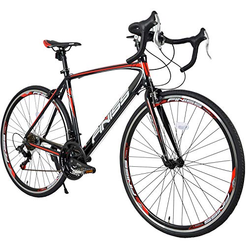 Merax Finiss Road Bike Aluminum 21 Speed 700C Racing Bicycle...