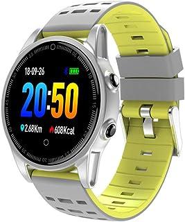 Relojes Inteligentes Mujer Hombre, Impermeable IP67 Deportivo Pulsómetro Monitor de Sueño Podómetro Smartwatches Pulsera Inteligente,C