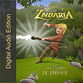 The Golden Wizard audiobook cover art
