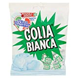 Golia Bianca Caramelle Dure Algusto Menta e Liquirizia, Senzaglutine, 180g