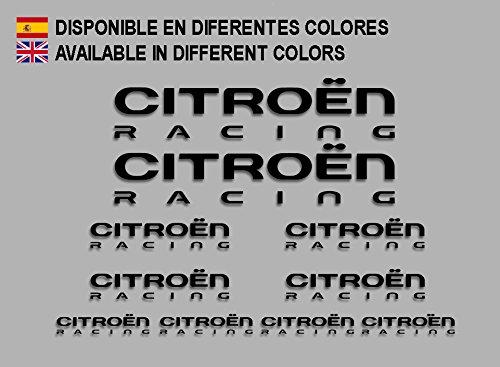Ecoshirt 0B-EJHY-5JTW - Pegatinas Citroen F210, Negro