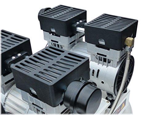 """KnappWulf Kompressor""""mucksmäuschenstill"""" Modell KW2050 8bar Druckluftkompressor 69dB - 2"""