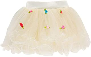 8fa58fdf63ecc Subfamily Jupe Princesse Bébé Filles Spectacle Danse Parti Fleur Princesse  Gaze Tutu Jupe Jupe Couleur Unie