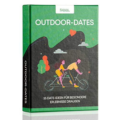 Nalara Outdoor Dates - 55 liebevolle Ideen um eine unvergessliche gemeinsame Zeit zu erleben - Partner Geschenke - Hochzeitstag Geschnke für Männer