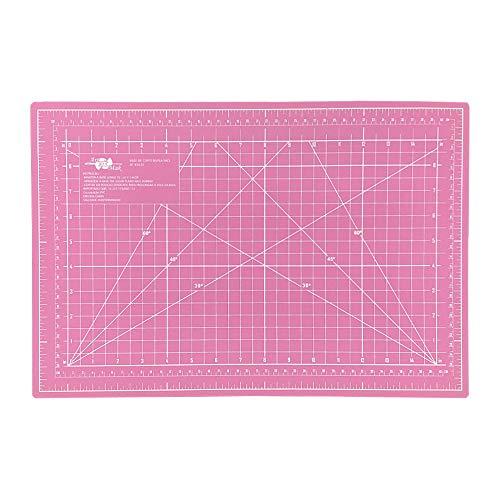 Base De Corte Rosa A3 30x45x3mm Scrapbook Patchwork