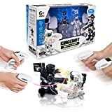 Battle Robot Toys by Super Francisco - Two 2.4GHz Remote Control Boxing Robots with Amazing Light and Sound Effects - Build Family Bonds - Master Visual Motor Skills - Promote fast thinking & Planning
